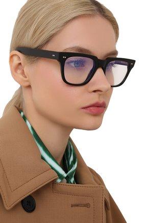 Женские солнцезащитные очки CUTLERANDGROSS черного цвета, арт. 138101 | Фото 2