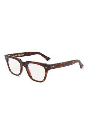 Женские солнцезащитные очки CUTLERANDGROSS коричневого цвета, арт. 138102 | Фото 1