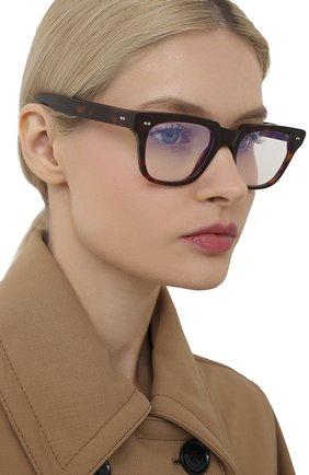 Женские солнцезащитные очки CUTLERANDGROSS коричневого цвета, арт. 138102 | Фото 2