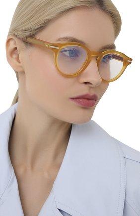 Женские оправа CUTLERANDGROSS желтого цвета, арт. 133808 | Фото 2
