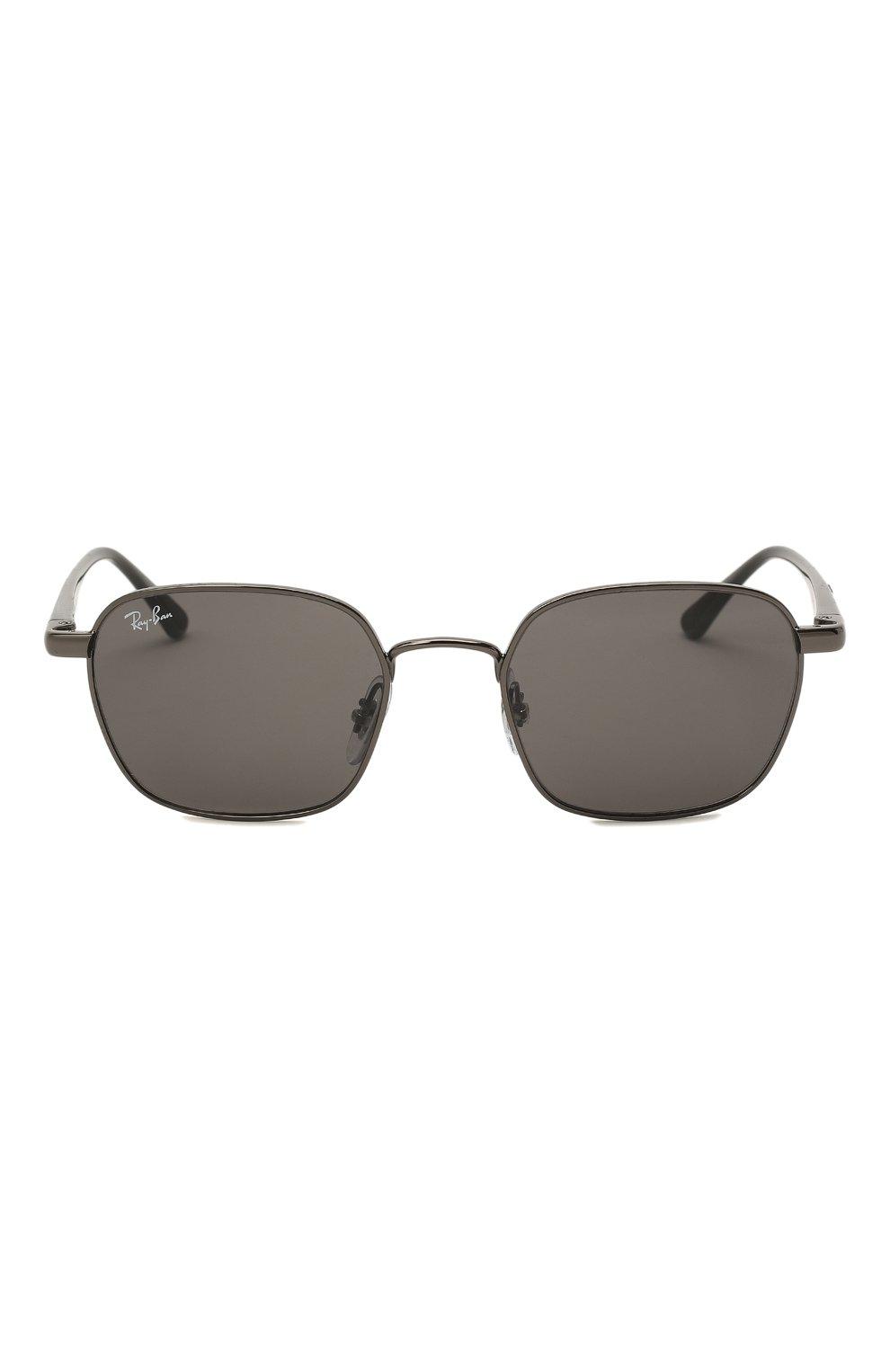 Женские солнцезащитные очки RAY-BAN черного цвета, арт. 3664-004/B1   Фото 4