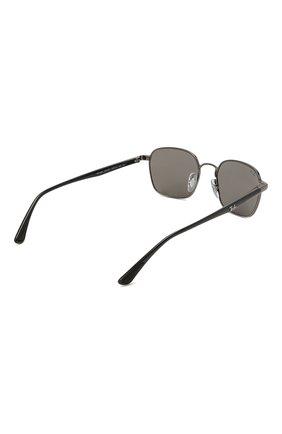 Женские солнцезащитные очки RAY-BAN черного цвета, арт. 3664-004/B1   Фото 5