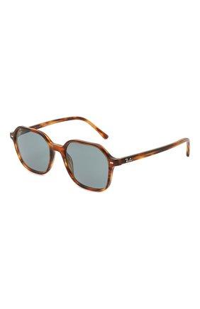 Женские солнцезащитные очки RAY-BAN коричневого цвета, арт. 2194-954/62 | Фото 1