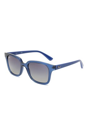 Детские солнцезащитные очки RAY-BAN синего цвета, арт. 9071S-70624L | Фото 1