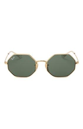 Детские солнцезащитные очки RAY-BAN золотого цвета, арт. 9549S-223/71 | Фото 2