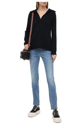 Женские джинсы PIETRO BRUNELLI голубого цвета, арт. JP0043/DE0089 | Фото 2