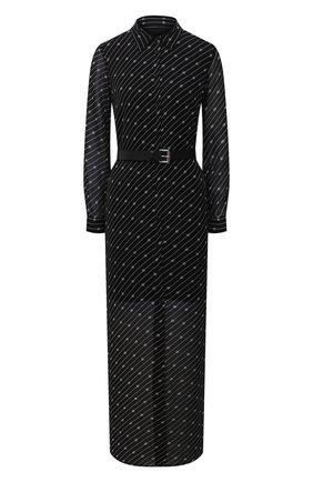 Женское платье из вискозы MICHAEL MICHAEL KORS черно-белого цвета, арт. MH08Z2RGHW | Фото 1