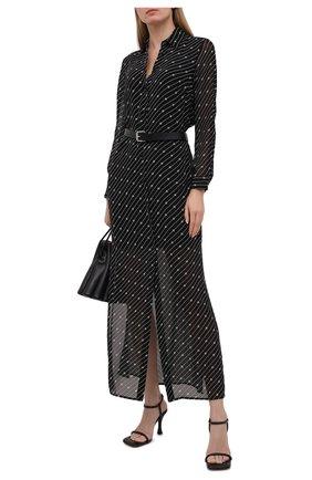 Женское платье из вискозы MICHAEL MICHAEL KORS черно-белого цвета, арт. MH08Z2RGHW | Фото 2