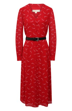 Женское платье MICHAEL MICHAEL KORS красного цвета, арт. MH08Y46GKY | Фото 1