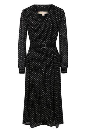 Женское платье MICHAEL MICHAEL KORS черного цвета, арт. MH08Y46GHW | Фото 1