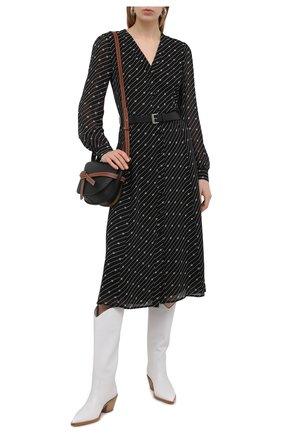 Женское платье MICHAEL MICHAEL KORS черного цвета, арт. MH08Y46GHW | Фото 2