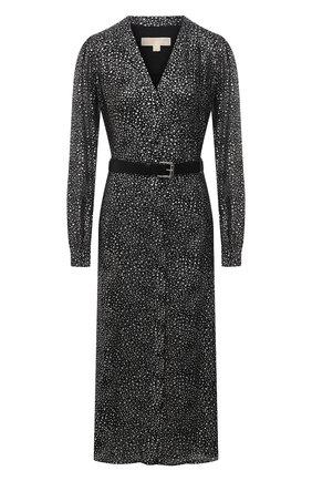 Женское платье MICHAEL MICHAEL KORS черного цвета, арт. MH08Y46G7Y | Фото 1