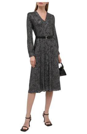 Женское платье MICHAEL MICHAEL KORS черного цвета, арт. MH08Y46G7Y | Фото 2