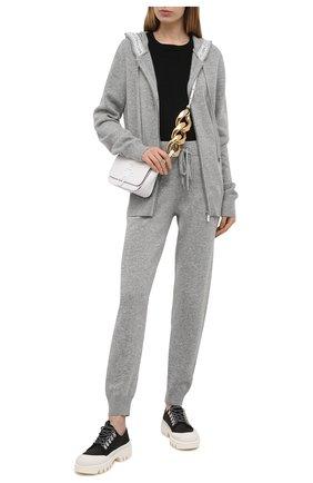 Женский кардиган MICHAEL MICHAEL KORS серого цвета, арт. MH06PH1GAG | Фото 2