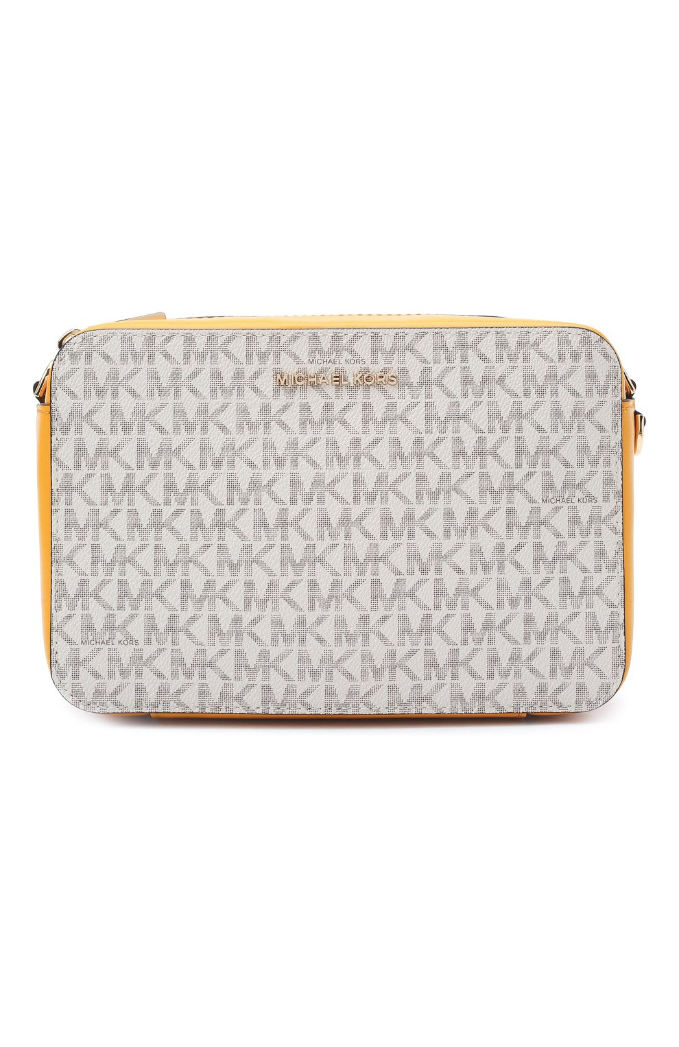 Женская сумка jet set medium MICHAEL MICHAEL KORS желтого цвета, арт. 32F8GF5M2B | Фото 1