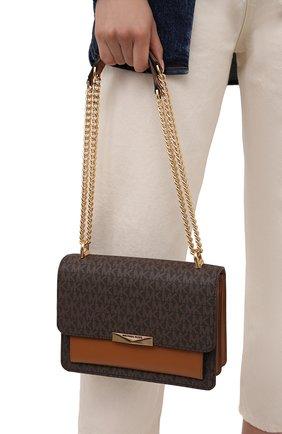 Женская сумка jade MICHAEL MICHAEL KORS коричневого цвета, арт. 30H9GJ4L3B   Фото 2