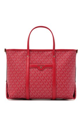 Женский сумка-тоут beck medium MICHAEL MICHAEL KORS красного цвета, арт. 30H0LKNT2B | Фото 1