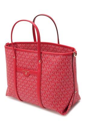 Женский сумка-тоут beck medium MICHAEL MICHAEL KORS красного цвета, арт. 30H0LKNT2B | Фото 4
