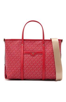 Женский сумка-тоут beck medium MICHAEL MICHAEL KORS красного цвета, арт. 30H0LKNT2B | Фото 6
