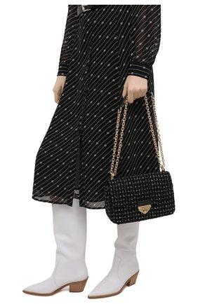 Женская сумка soho large MICHAEL MICHAEL KORS черного цвета, арт. 30H0G1SL3C | Фото 2