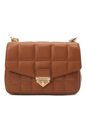 Женская сумка soho small MICHAEL MICHAEL KORS коричневого цвета, арт. 30H0G1SL1T | Фото 1