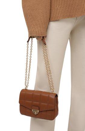 Женская сумка soho small MICHAEL MICHAEL KORS коричневого цвета, арт. 30H0G1SL1T | Фото 2