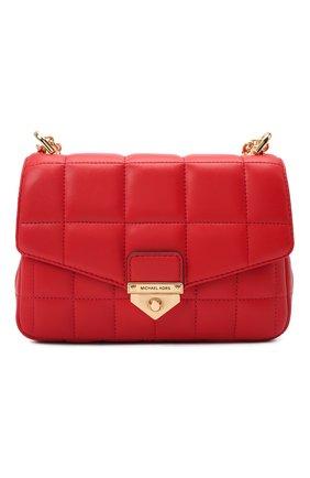 Женская сумка soho small MICHAEL MICHAEL KORS красного цвета, арт. 30H0G1SL1T | Фото 1