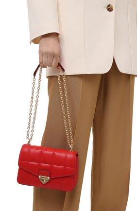 Женская сумка soho small MICHAEL MICHAEL KORS красного цвета, арт. 30H0G1SL1T | Фото 2