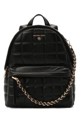 Женский рюкзак slater medium MICHAEL MICHAEL KORS черного цвета, арт. 30H0G04B2T | Фото 1