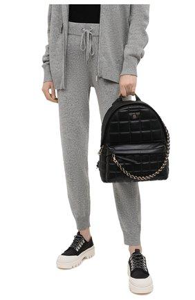 Женский рюкзак slater medium MICHAEL MICHAEL KORS черного цвета, арт. 30H0G04B2T | Фото 2