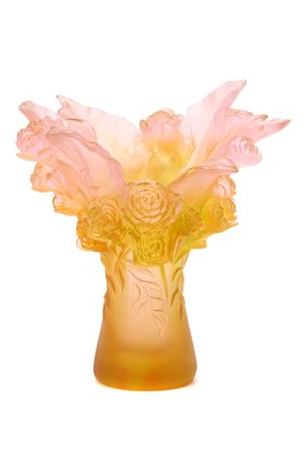 Ваза peony cloud DAUM розового цвета, арт. 05718 | Фото 1