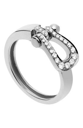 Женские кольцо FRED бесцветного цвета, арт. 4B0379-000 | Фото 1