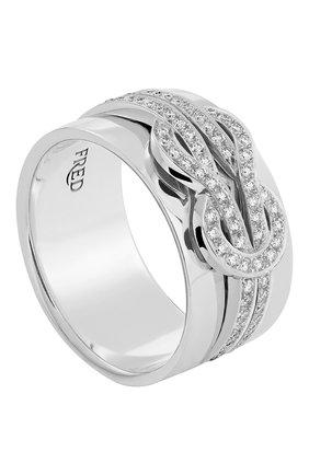 Женские кольцо FRED бесцветного цвета, арт. 4B0935-000 | Фото 1