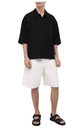Мужские хлопковые шорты VALENTINO белого цвета, арт. VV3RDB2075Y | Фото 2