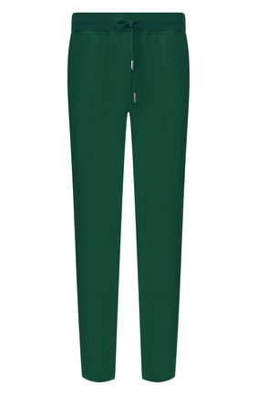 Мужские хлопковые брюки KITON зеленого цвета, арт. UK1051 | Фото 1 (Стили: Спорт-шик; Материал внешний: Хлопок; Случай: Повседневный; Длина (брюки, джинсы): Стандартные; Мужское Кросс-КТ: Брюки-трикотаж)