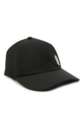 Мужской бейсболка STONE ISLAND черного цвета, арт. 741599227 | Фото 1
