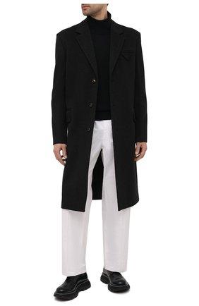 Мужской шерстяной свитер ACNE STUDIOS черного цвета, арт. C60029/M | Фото 2