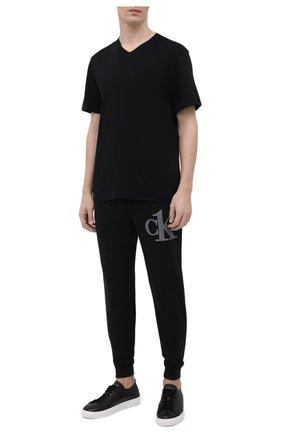 Мужская хлопковая футболка JAMES PERSE черного цвета, арт. MELJ3248 | Фото 2