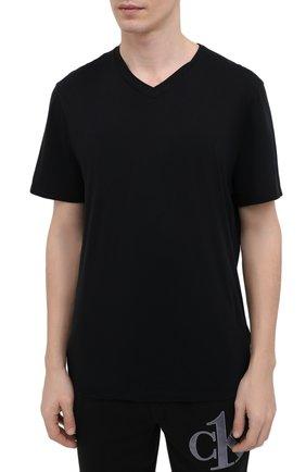 Мужская хлопковая футболка JAMES PERSE черного цвета, арт. MELJ3248 | Фото 3 (Принт: Без принта; Рукава: Короткие; Длина (для топов): Стандартные; Материал внешний: Хлопок; Стили: Кэжуэл)