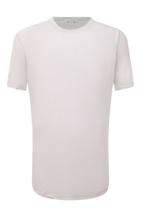 Мужская хлопковая футболка JAMES PERSE бежевого цвета, арт. MKJ3360   Фото 1