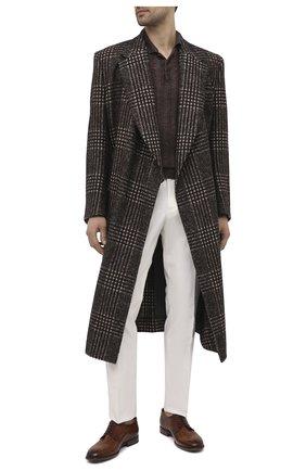 Мужские кожаные дерби PANTANETTI коричневого цвета, арт. 14501E/CAN0LE | Фото 2