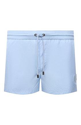 Мужские плавки-шорты DOLCE & GABBANA голубого цвета, арт. M4B11T/FUSFW | Фото 1 (Принт: Без принта; Мужское Кросс-КТ: плавки-шорты; Материал внешний: Синтетический материал)