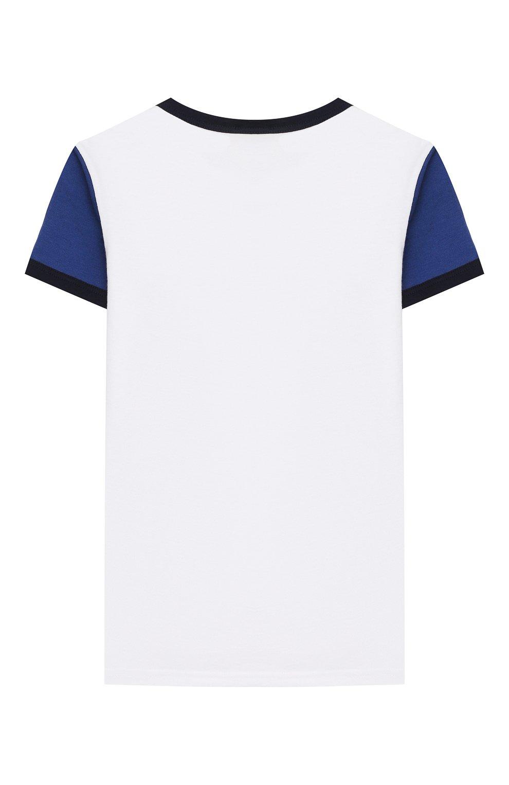 Женская хлопковая пижама LA PERLA синего цвета, арт. 70092/2A-6A | Фото 3
