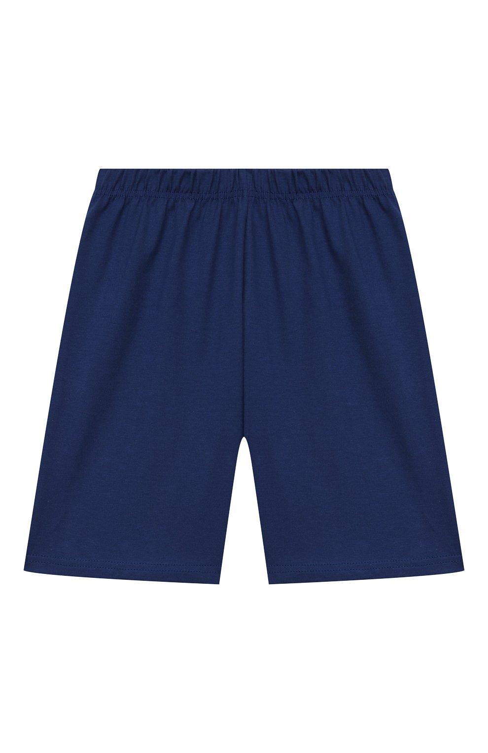 Женская хлопковая пижама LA PERLA синего цвета, арт. 70092/2A-6A | Фото 5
