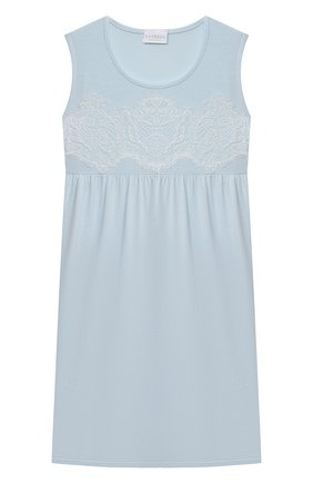 Детская сорочка LA PERLA голубого цвета, арт. 70073/2A-6A | Фото 1