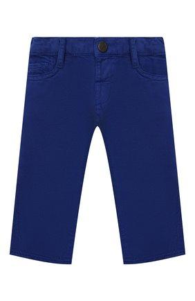 Детские джинсы EMPORIO ARMANI синего цвета, арт. 3KHJ04/3N4FZ | Фото 1