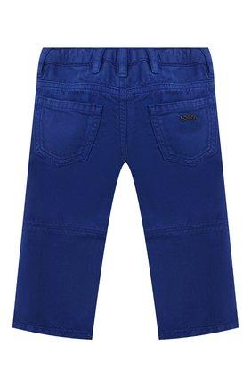 Детские джинсы EMPORIO ARMANI синего цвета, арт. 3KHJ04/3N4FZ | Фото 2