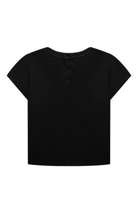 Детский комплект из двух футболок EMPORIO ARMANI темно-синего цвета, арт. 3KED01/3J2IZ | Фото 3