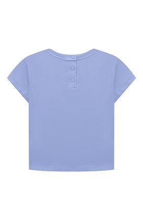 Детский комплект из двух футболок EMPORIO ARMANI кораллового цвета, арт. 3KED01/3J2IZ | Фото 6