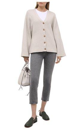 Женские джинсы AGOLDE серого цвета, арт. A056C-1157   Фото 2